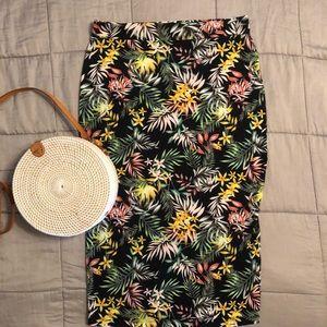 Hawaiian Pencil Skirt